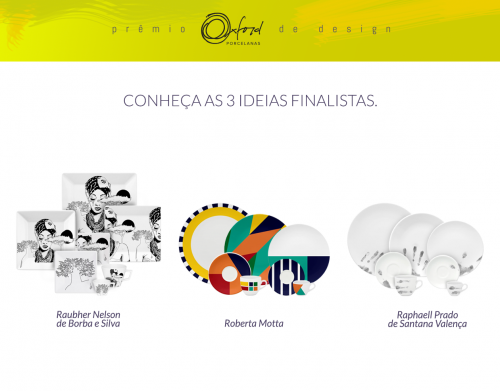 Finalistas do Prêmio Oxford de Design.