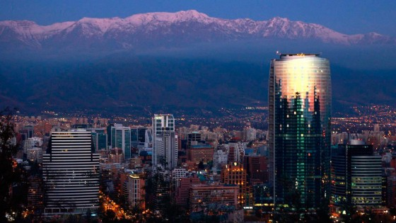 Santiago, capital do Chile (Foto: http://chile.travel/blog/santiago-en-fotos/)