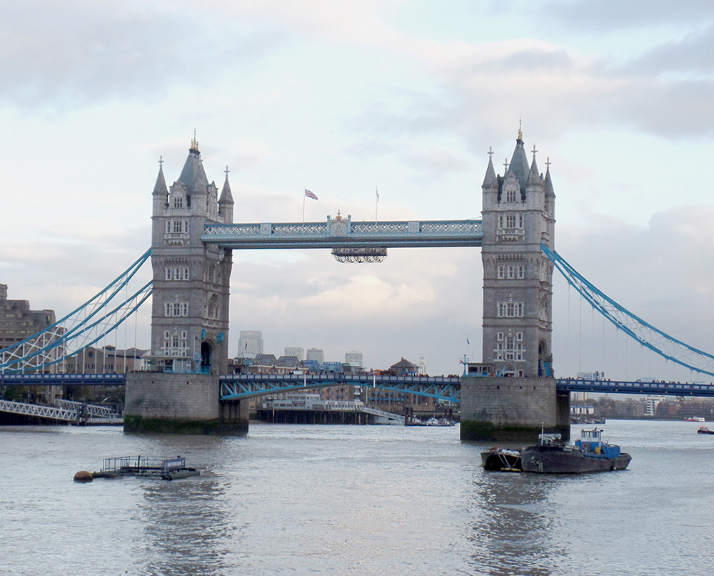 Tower Bridge. Foto: Equipe Oxford.