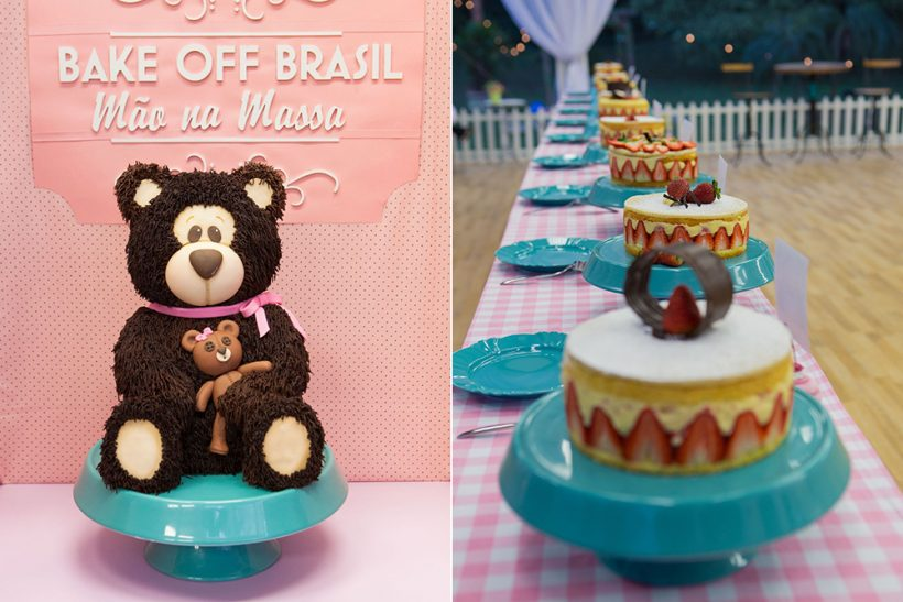 Prato Tower da Oxford Porcelanas no programa Bake Off Brasil