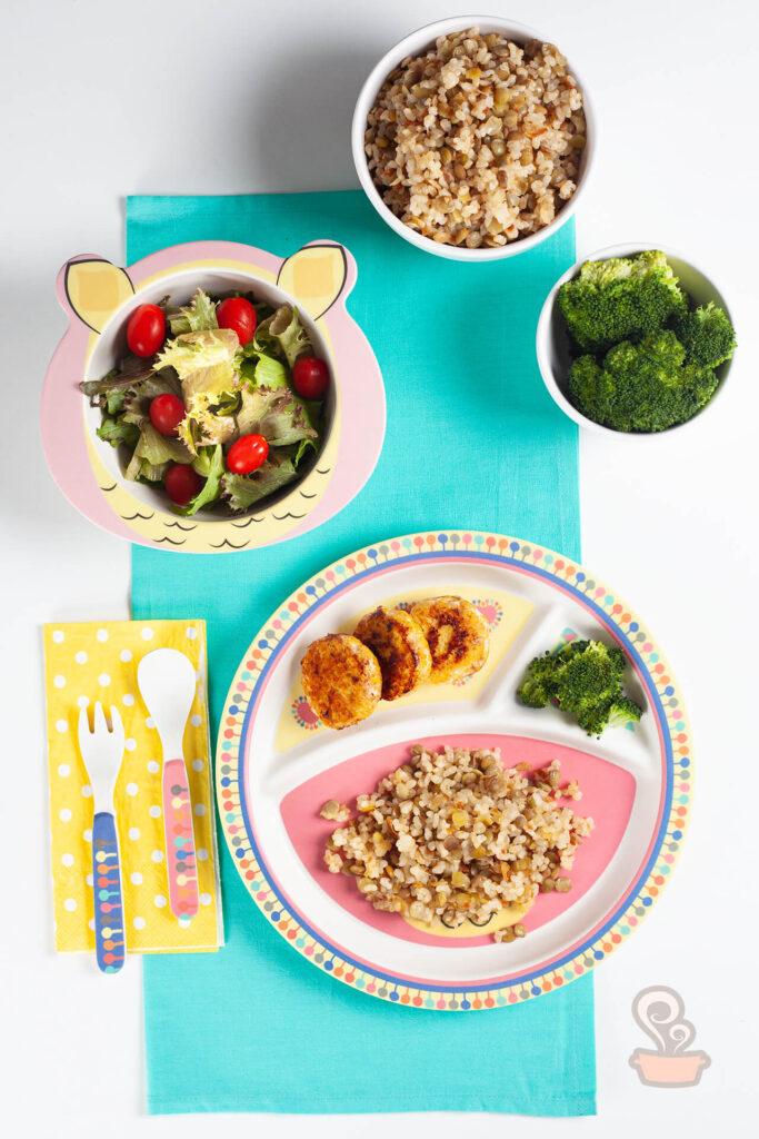Almoço infantil nutritivo - foto: naminhapanela.com
