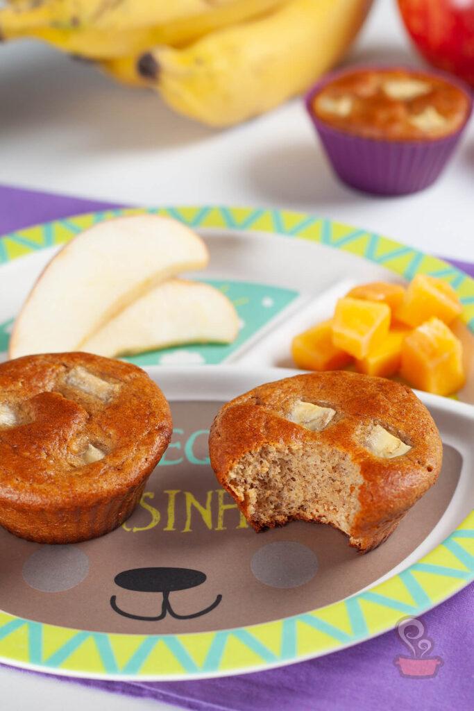 Lanche infantil saudável - foto: naminhapanela.com