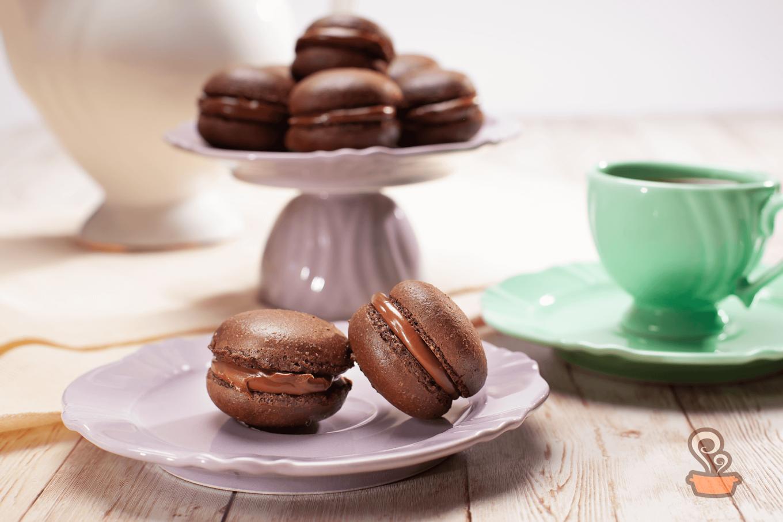 Macaron de chocolate - foto: naminhapanela.com