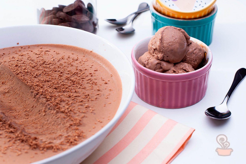 Receita de Sorvete de chocolate